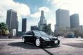 Picture wheels, black, front, BMW, E60