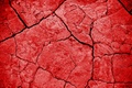 Picture earth, red, texture, cracked