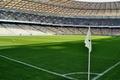 Picture Football, Stadium, Lawn, The box, Corner