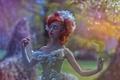 Picture Fairytale, girl, art, fantasy, Agnieszka Lorek, Ophidia, dress