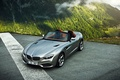 Picture Mountain, Roadster, Fog, Zagato, Silver, BMW