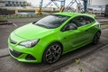 Picture Opel, Green, Astra, Opc