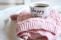 Picture happy, sweater, Cup