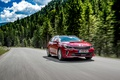 Picture forest, Optima, road, KIA, GT Line, road, speed, forest, Sport wagon, Kia, red