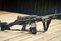 Picture Mk.46, manual, table, machine gun, camouflage