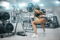 Picture legs, workout, fitness, gym, buttocks, training, weights, hard work