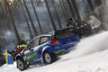 Picture snow, snow, wrc, ford, rally, Sweden, Petter Solberg, 2012, fiesta, Sweden, rally