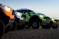 Picture Auto, Yellow, White, Green, Orange, Lights, Mini Cooper, Rally, Dakar, Dakar, SUV, Rally, Four, MINI, ...