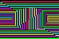 Picture line, strip, color, texture, oval