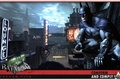 Picture night, the city, batman, the moon, signs, arkham city