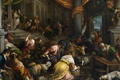 Picture people, picture, religion, the Bible, mythology, Francesco Bassano, The expulsion of the Merchants from the ...