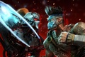 Picture metal, fight, tattoo, monk, fight, fist, fighters, Cyborg, Microsoft Game Studios, Killer Instinct, Double Helix ...