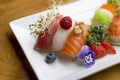 Picture raspberry, food, decoration, sushi