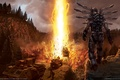 Picture The explosion, Warrior, Machine, Enemy Territory: Quake Wars