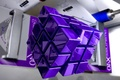 Picture cube, square, Rubik, purple