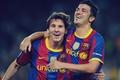 Picture Baby, David Villa, the Spaniard, FC Barcelona, The Gauge, comrades, emotions, David Villa, player, Child, ...