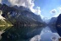 Picture Dachstein, clouds, Austria, reflection, Austria