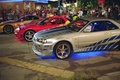 Picture supra, skyline, Paul Walker, Paul Walker, Brian O'Conner, Furious, 2 Fast 2 Furious, s2000, rx-7