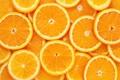 Picture orange, texture, slices