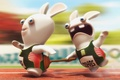 Picture Vantus, rayman raving rabbids tv party, sprint, Rabbits