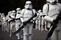 Picture Star Wars, cosplay, fans, stornttopper uniform laser weapons, super army