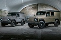 Picture Defender, jeep, X-Tech, Wagon, Utility, background, Land Rover, hangar, Defender, the front, Land Rover, SUV, ...
