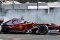 Picture smoke, Ferrari, Formula 1, Vettel, F1