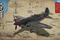 Picture As-9, War Thunder, war, Yakovlev, piston, Art, single-engine, Soviet, fighter, the sky