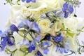 Picture flowers, photo, bouquet, roses, Calla lilies
