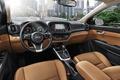 Picture interior, Kia, crossover, KX3, torpedo, panel, Kia, salon, the wheel