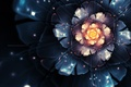 Picture flower, fractals, The Scent of the Night
