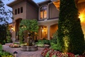Picture flowers, beauty, luxury, trees, mansion, yard, house, fountain