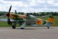 Picture single-engine, The Yak-3, WWII, Soviet, fighter