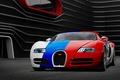 Picture three color, Bugatti, Bugatti, front, Aksyonov Nikita Andreevich, Veyron, Veyron