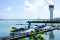 Picture aircraft, airport, The Maldives, seaplane, floatplane, Trans Maldivian, Efficiency, the control tower