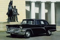 Picture GAZ, background, sedan, 1959, GAS, columns, Seagull, black, the front, Sturua, Chayka, classic