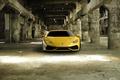 Picture Lamborghini, yellow, Hurricane, full face
