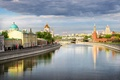 Picture Russia, channel, river, bridge, Moscow, Moscow, Rivers