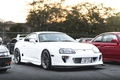 Picture turbo, white, wheels, supra, japan, toyota, jdm, tuning, power, race, low, stance, show
