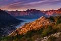 Picture mountains, Montenegro, To, Kotor Bay