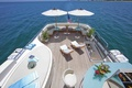 Picture design, style, interior, yacht, chairs, umbrellas, deck, Suite