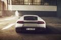 Picture Lamborghini, LP610-4, 2014, Ligth, Sun, White, Rear, Supercar, Huracan