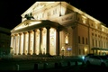 Picture The Bolshoi theatre, Moscow, Night