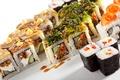 Picture sushi, Japanese cuisine, filling, seafood, tomato, rolls, fish, figure, Sushi, algae, Japanese, rolls, seafood
