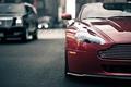 Picture Aston Martin, Vantage, Style, Blur, Traffic