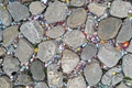 Picture road, stones, background