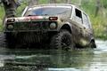 Picture jeep, vaz, trophy, off-road, VAZ - 21213, Niva, SUV, swamp