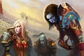 Picture MAG, arena, World of warcraft, paladin, the robber, the blood elf, the forsaken