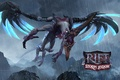 Picture dragon, the game, wings, mouth, RIFT, storm legion