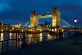 Picture light, night, city, the city, river, England, London, lantern, UK, light, london, Tower bridge, river, ...